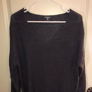 Navy/grey Charolette Ruse sweater